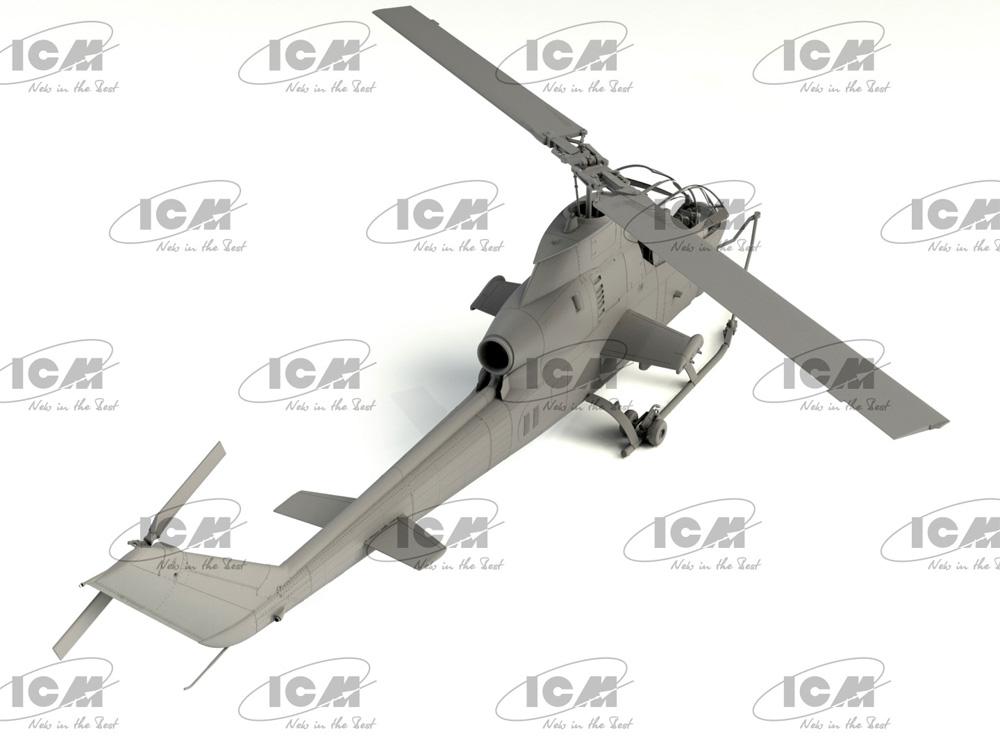 AH-1G コブラ 初期型 アメリカ 攻撃ヘリコプタープラモデル(ICM1/32 エアクラフトNo.32060)商品画像_4