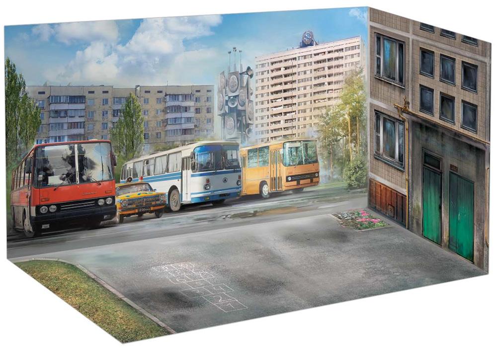 チェルノブイリ #5 避難住民セットプラモデル(ICMチェルノブイリNo.35905)商品画像_3