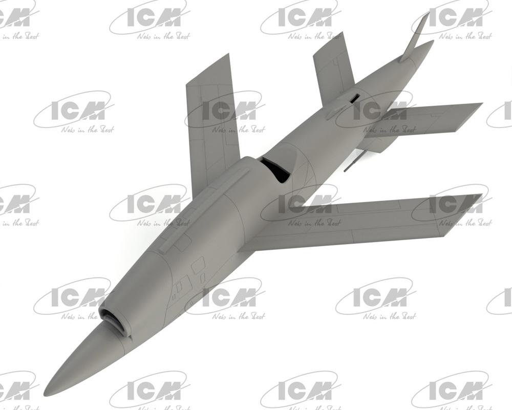 BQM-34A (Q-2C) ファイアビー w/トレーラープラモデル(ICM1/48 エアクラフト プラモデルNo.48401)商品画像_4