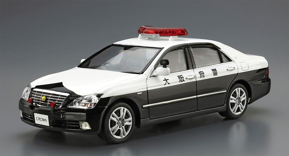 トヨタ GRS182 クラウン パトロールカー 交通取締用 '05プラモデル(アオシマザ パトロールカーNo.003)商品画像_2