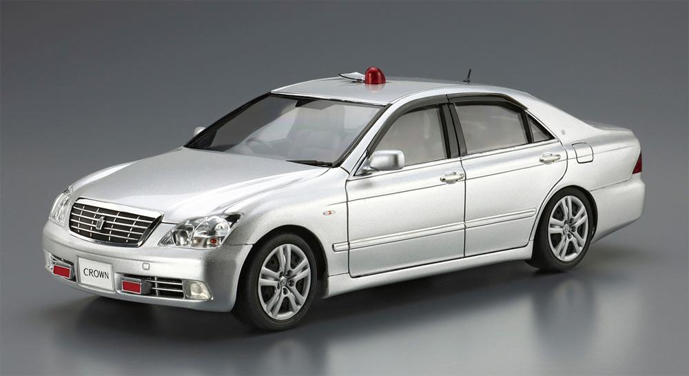 トヨタ GRS182 クラウン パトロールカー 交通取締用 '05プラモデル(アオシマザ パトロールカーNo.003)商品画像_3