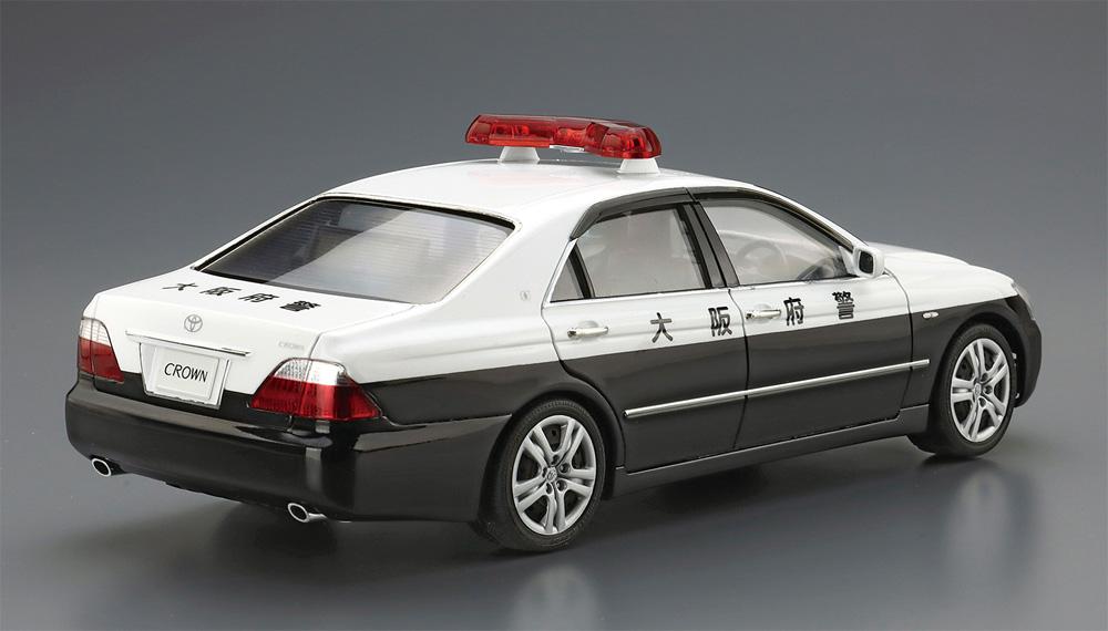 トヨタ GRS182 クラウン パトロールカー 交通取締用 '05プラモデル(アオシマザ パトロールカーNo.003)商品画像_4