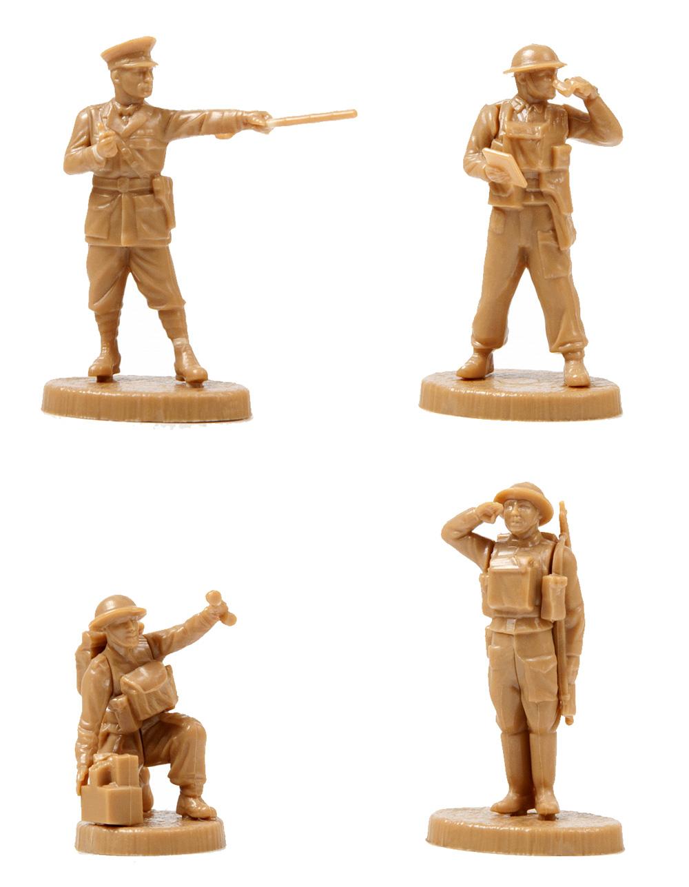 イギリス 司令部 1939-1945プラモデル(ズベズダART OF TACTICNo.6174)商品画像_3