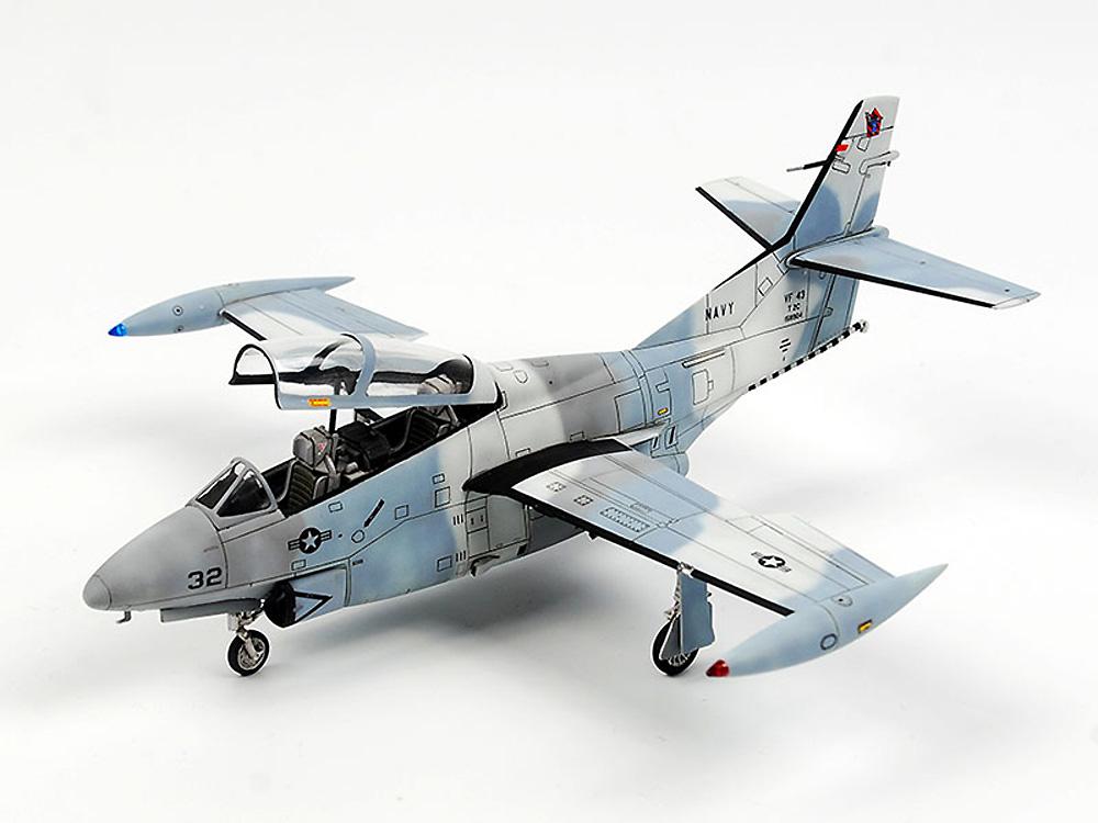 T-2C バックアイ トップガンプラモデル(ウルフパックウルフパックデザイン プレミアムエディションキットNo.WP10013)商品画像_3