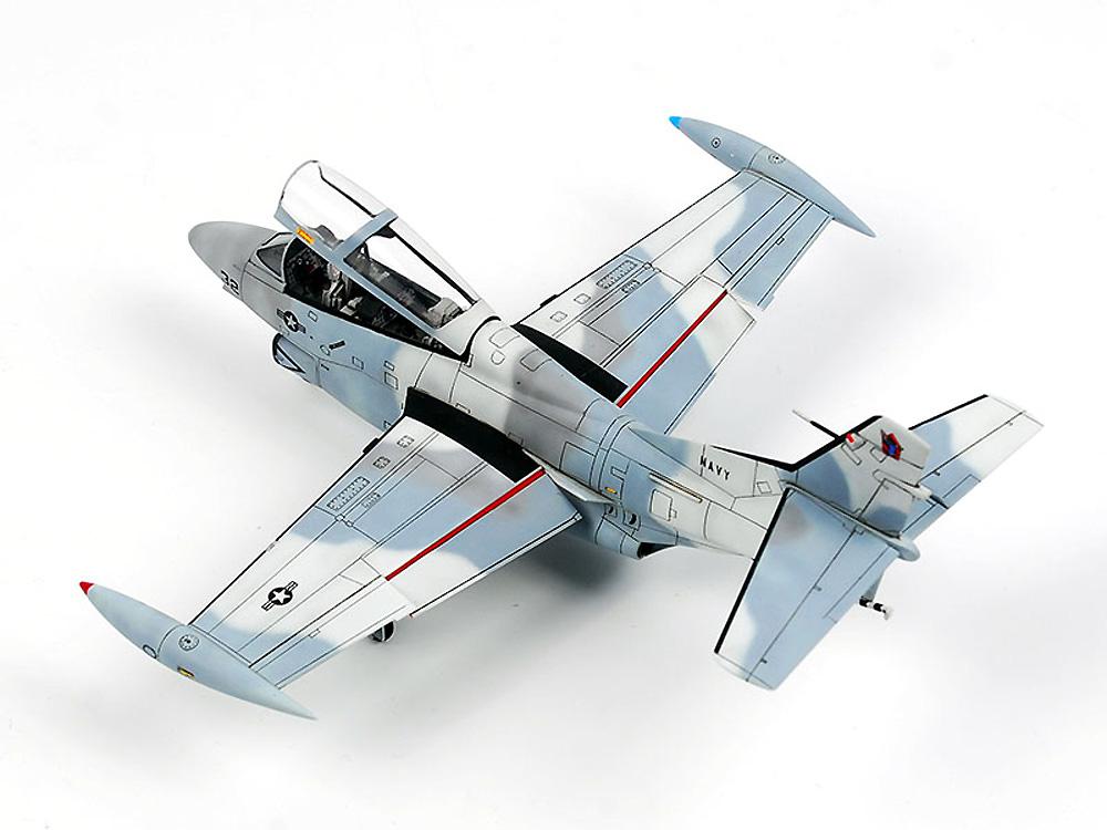 T-2C バックアイ トップガンプラモデル(ウルフパックウルフパックデザイン プレミアムエディションキットNo.WP10013)商品画像_4