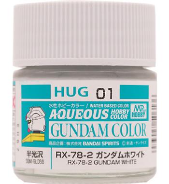 RX-78-2 ガンダムホワイト塗料(GSIクレオス水性ガンダムカラーNo.HUG001)商品画像