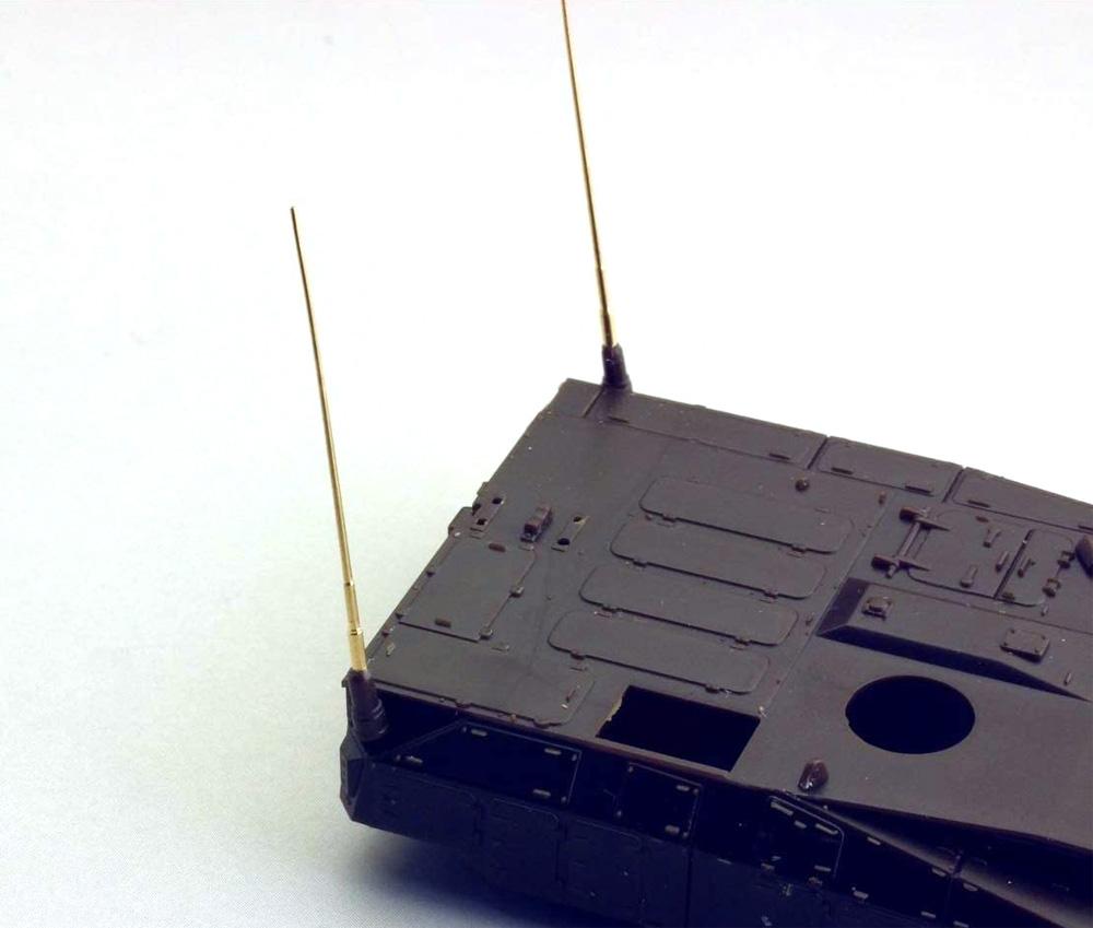 陸上自衛隊 10式戦車 120mm砲 金属砲身 & アンテナセット (フジミ用)メタル(ORANGE HOBBYRED SeriesNo.G72-194-068)商品画像_2