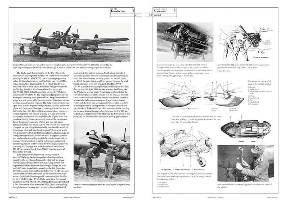 ヘンシェル Hs129 ディテールガイド本(Valiantwingsエアフレーム & ミニチュアNo.017)商品画像_1