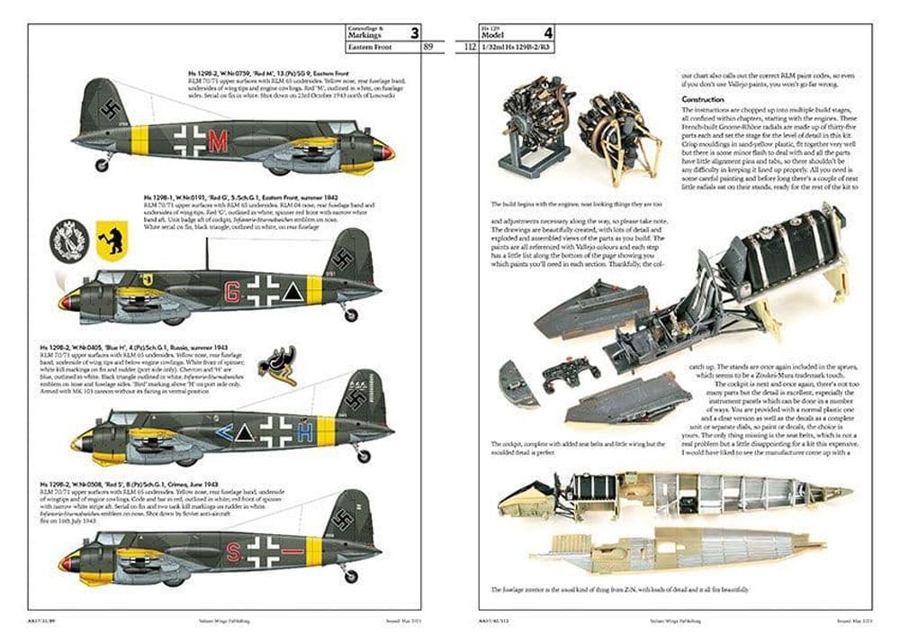 ヘンシェル Hs129 ディテールガイド本(Valiantwingsエアフレーム & ミニチュアNo.017)商品画像_2
