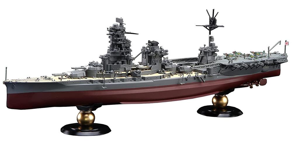 日本海軍 航空戦艦 伊勢 フルハルモデルプラモデル(フジミ1/700 帝国海軍シリーズNo.029)商品画像_1