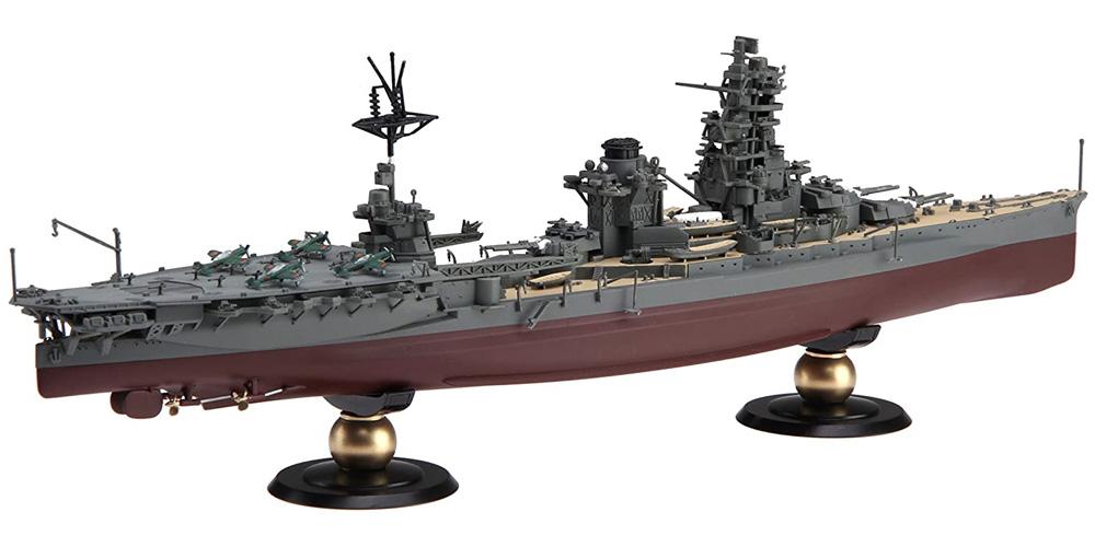 日本海軍 航空戦艦 日向 フルハルモデルプラモデル(フジミ1/700 帝国海軍シリーズNo.035)商品画像_2