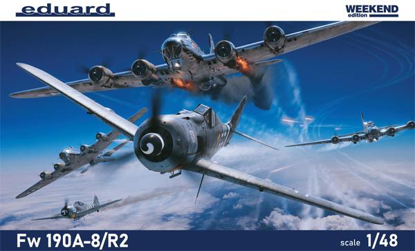 フォッケウルフ Fw190A-8/R2プラモデル(エデュアルド1/48 ウィークエンド エディションNo.84114)商品画像