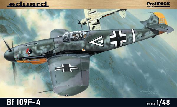 メッサーシュミット Bf109F-4プラモデル(エデュアルド1/48 プロフィパックNo.82114)商品画像