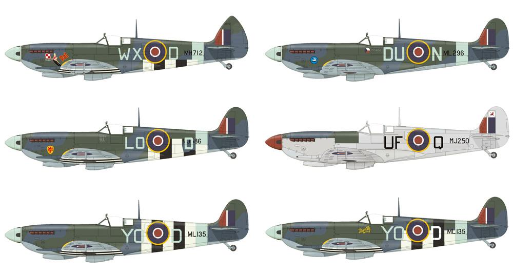 スピットファイア Mk.9c 後期型プラモデル(エデュアルド1/48 プロフィパックNo.8281)商品画像_3