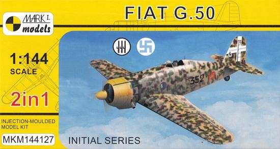 フィアット G.50 初期型 2in1プラモデル(MARK 1MARK 1 modelsNo.MKM144127)商品画像