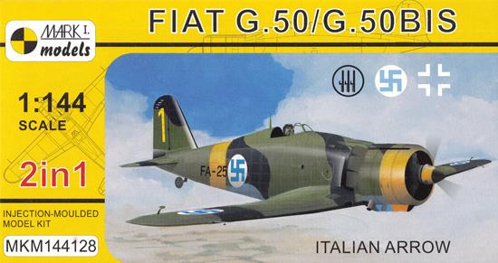 フィアット G.50/G.50bis イタリアンアロー 2in1プラモデル(MARK 1MARK 1 modelsNo.MKM144128)商品画像
