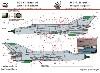 MiG-21MF/Bis データーステンシル デカール