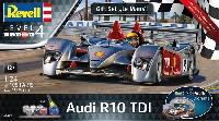 レベルカーモデルアウディ R10 TDI ル・マン & 3Dパズル ジオラマ (ギフトセット)