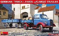 ドイツ トラック L1500S w/カーゴトレイラー