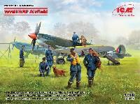 WW2 イギリス空軍 飛行場 情景セット