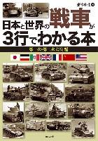 イカロス出版ミリタリー関連 (軍用機/戦車/艦船)日本と世界の戦車が3行でわかる本 第一次・第二次大戦 編