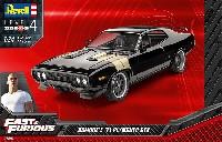 レベルカーモデル1971 プリムス GTX ドミニク (Fast & Furious)