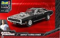 レベルカーモデル1970 ダッジ チャージャー ドミニク (Fast & Furious)