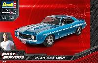 レベルカーモデル1969 シェビー カマロ イェンコ (Fast & Furious)