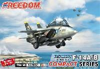 F-14A/B トムキャット/ボムキャット アメリカ海軍 VF-84 ジョリーロジャーズ 2in1