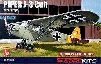 パイパー J-3 カブ ヨーロッパ上空