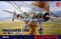 セイバーキッツ1/72 プラスチックモデルハインケル Hs126A スペイン上空