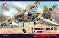 セイバーキッツ1/72 プラスチックモデルハインケル Hs126B アフリカ上空