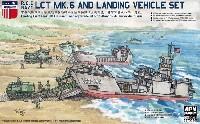 中華民國海軍 LCT Mk.6 戦車揚陸艦 & 揚陸車輌セット