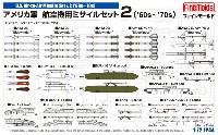 ファインモールド1/72 航空機アメリカ軍 航空機用ミサイルセット 2 '60s-'70s