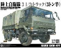 陸上自衛隊 3 1/2t トラック (ISUZU SKW-477)