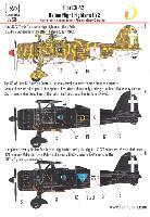 フィアット CR.42 イタリア 夜間戦闘機 デカール