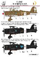 HAD MODELS1/48 デカールフィアット CR.42 イタリア 夜間戦闘機 デカール