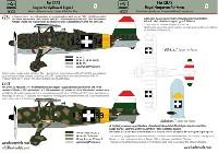HAD MODELS1/48 デカールフィアット CR.42 王立ハンガリー空軍 デカール