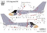 HAD MODELS1/48 デカールS-3A ヴァイキング データーステンシル デカール