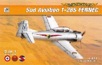 ミニウイング1/144 インジェクションキットシュド・アビアシオン T-28S フェネック 2in1