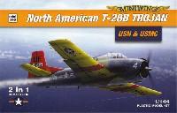ノースアメリカン T-28B トロージャン 米海軍 & 海兵隊 2in1