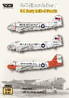 C-47 スカイトレイン Part.1 アメリカ海軍 R4D-6 Fleets デカール
