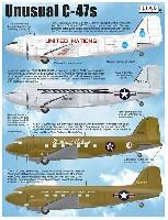 C-47 珍しいマーキング デカール