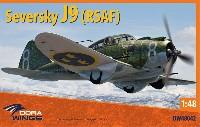 セヴァスキー J9 戦闘機 スウェーデン空軍