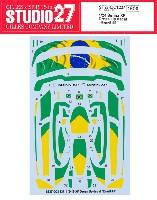 マクラーレン セナ XP ドレスアップデカール ブラジル #1
