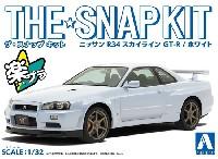 ニッサン R34 スカイライン GT-R ホワイト