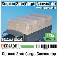 ドイツ 3トン カーゴトラック キャンパストップ (タミヤ/イタレリ用)