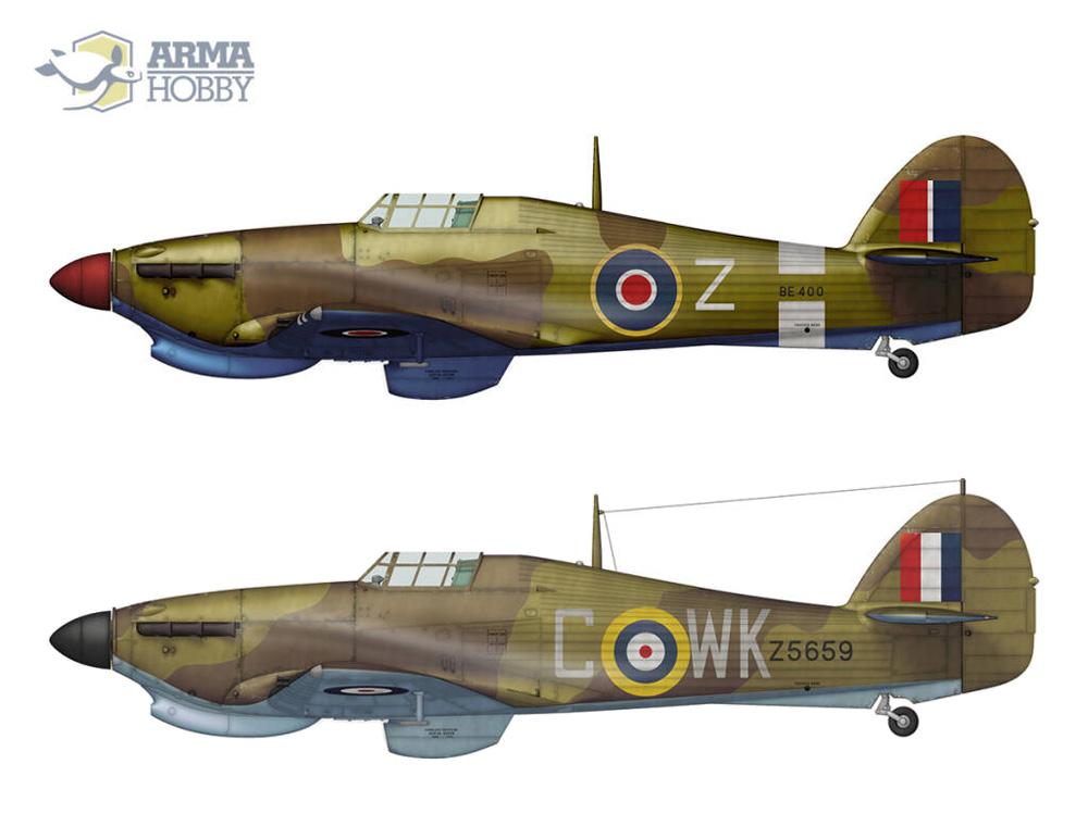 ホーカー ハリケーン Mk.2b TROPプラモデル(アルマホビー1/72 エアクラフト プラモデルNo.70044)商品画像_2