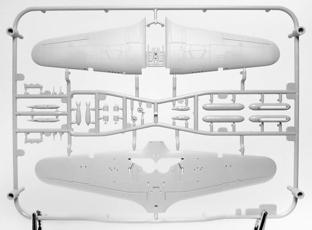 ホーカー ハリケーン Mk.2b TROPプラモデル(アルマホビー1/72 エアクラフト プラモデルNo.70044)商品画像_4