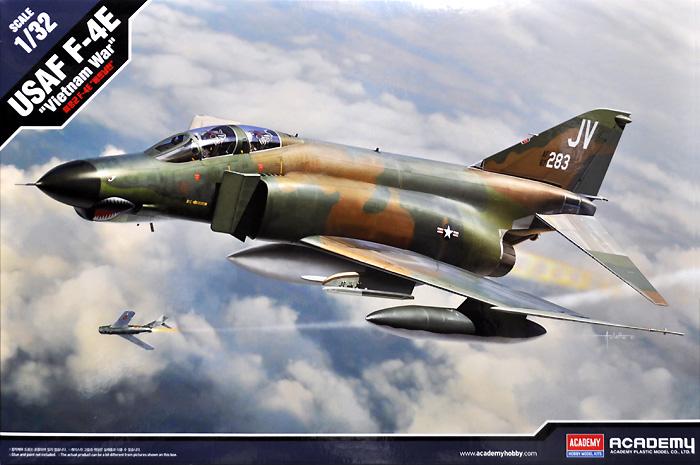F-4E ファントム 2 ベトナム戦争プラモデル(アカデミー1/32 Scale AircraftNo.12133)商品画像